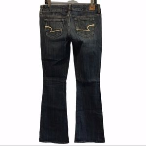 American Eagle Artist denim jeans flare leg size 8